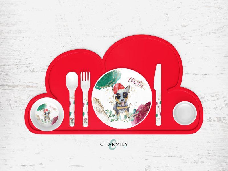 Christmas Children's Dinner Sets
