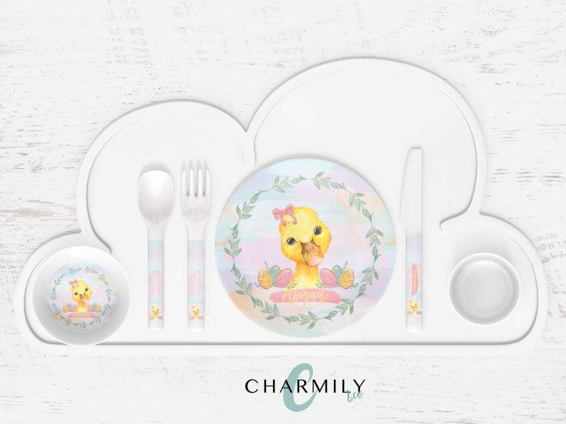 Easter Children's Dinner Set