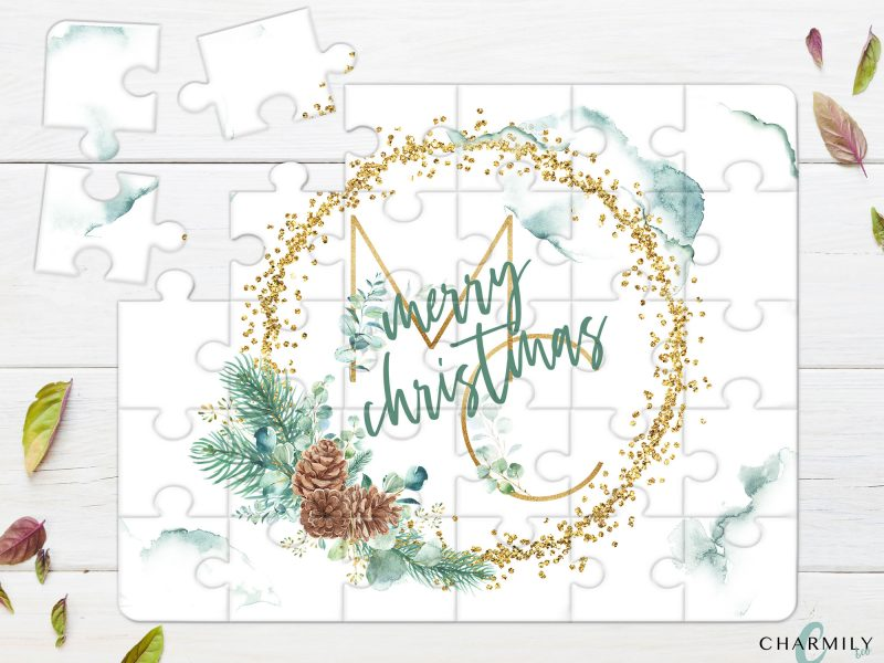 30 Piece Wooden Puzzle - Christmas