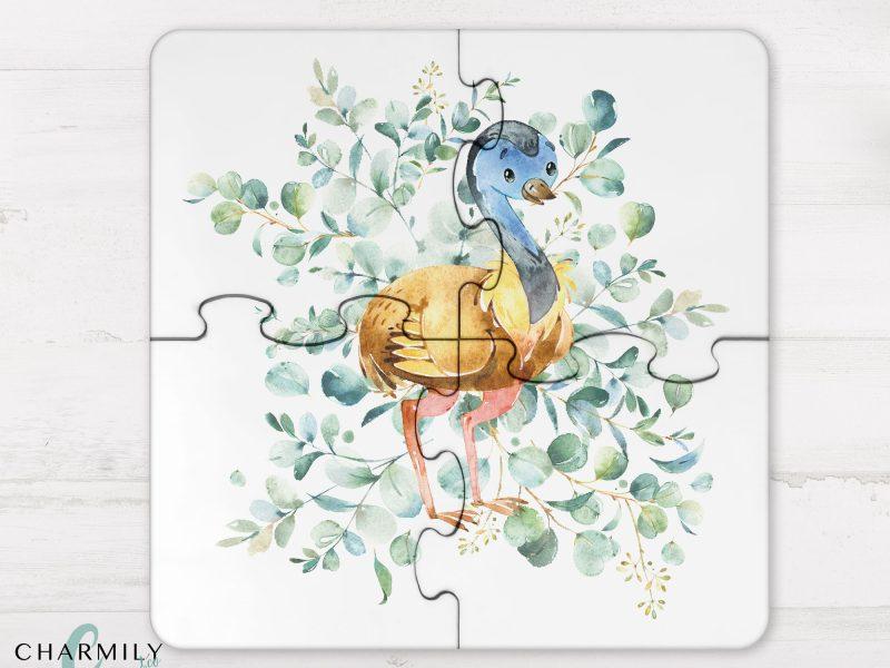 4 Piece Wooden Puzzle