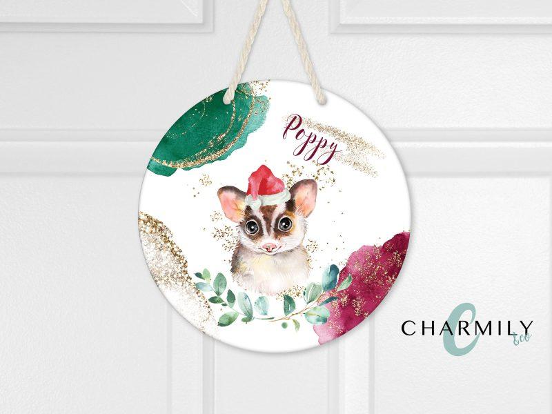 Christmas Round Wall Hanger