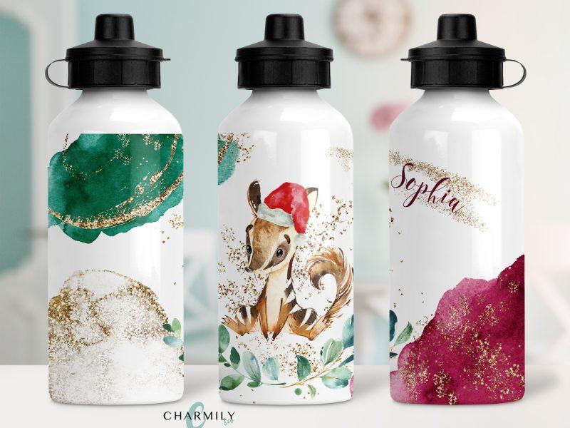 Water Bottle - Christmas